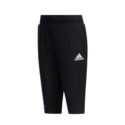 阿迪達斯(adidas)小童裝休閑訓練運動七分褲 FM9819