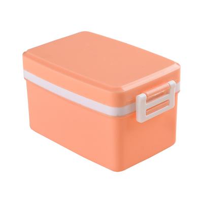 针线盒套装家用便携式手缝针线整理盒针线缝补针线包-16件装