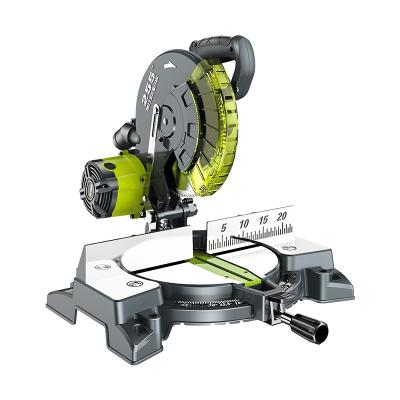 高精度切鋁機10寸鋁合金木材切割機多功能45度角型材斜切鋸界鋁機 工業級界鋸機+120齒多用鋸片(送配件禮包)
