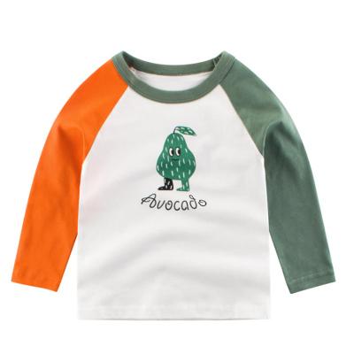 27Kids兒童長袖T恤童裝秋冬季時尚運動休閑兒童男女寶寶通用衣服