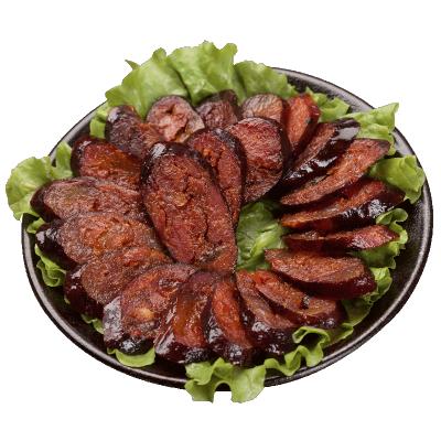 楊大爺微麻辣香腸400克/袋 六分瘦四川臘腸特產農家柴火煙熏臘肉