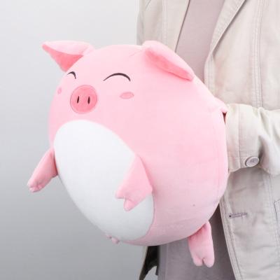 瑞仕茲 七夕情人節禮物暖手捂豬頭抱枕小豬毛絨玩具公仔布娃娃冬季保暖插手女孩生日禮物 送老婆送女神女孩閨蜜