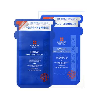 LEADERS 麗得姿 美蒂優氨基酸 保濕補水 面膜 10片/盒 提拉緊致