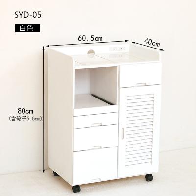 森遠達 餐邊柜實木茶水柜 辦公室簡約小客廳 多功能儲物柜碗柜 現代廚房櫥柜