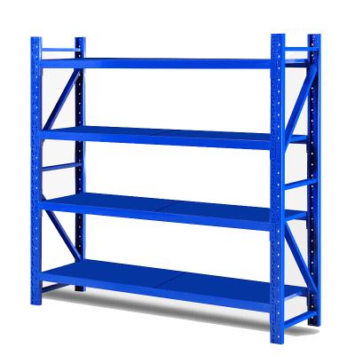 歐寶美倉儲貨架超市倉庫架展示架輕型1.5米四層主架-1