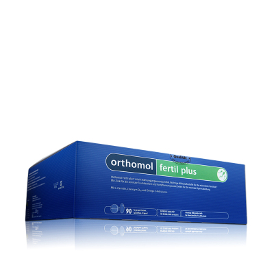 Orthomol Fertil plus90德國奧適寶孕精活力復合番茄紅素男性備孕 90包/盒