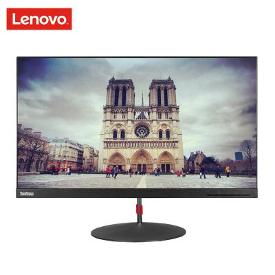 聯想 Think Vision X24Q 2K 分辨率2560*1440 23.8英寸纖薄IPS屏窄邊框顯示器
