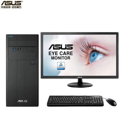 华硕(ASUS)商用台式电脑 D640MB 21.5英寸(I3-9100 4G 1T DOS )