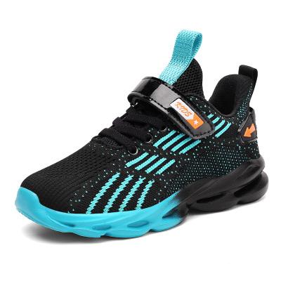 能酷男童鞋2020春秋季兒童運動鞋中大童網面透氣男孩休閑跑步鞋