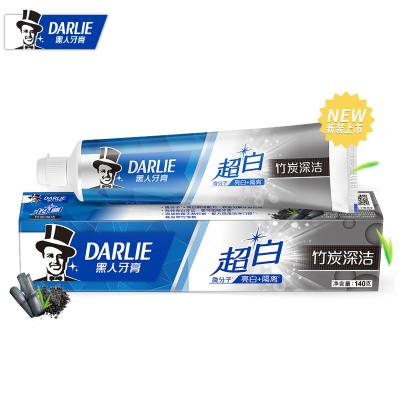黑人(DARLIE)超白竹炭深潔牙膏 140g