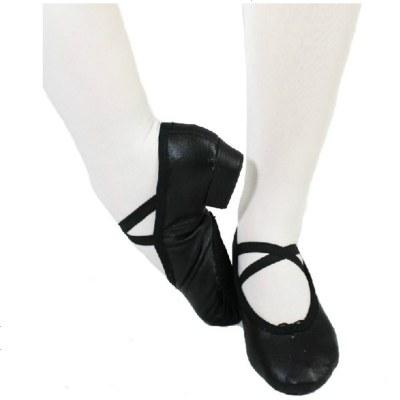 红舞鞋1020皮教师鞋爵士鞋舞蹈鞋练功鞋舞蹈用品体操鞋瑜珈鞋