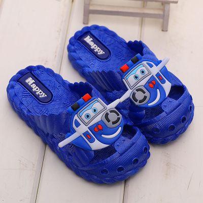 兒童拖鞋夏季涼拖親子軟底防滑小孩男女寶寶浴室內家居可愛包頭鞋