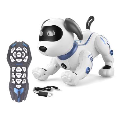汇奇宝 遥控智能机器狗机器人会走电动对话仿真语音宠物儿童玩具男孩女孩 智能宠物狗【特技升级版】
