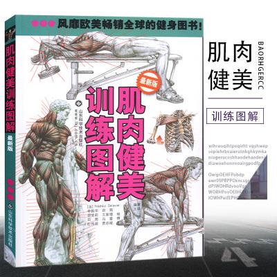 肌肉健美訓練圖解肌肉圖解肌肉塑造全書拉伸健身書籍健身教練書籍健身書籍教程私人教練健身教程健身書囝
