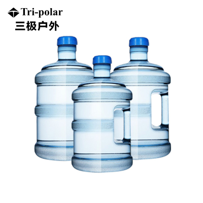 三極戶外(Tripolar) TP8930 飲水機桶加厚PC純凈水家用泡茶手提德國拜耳塑料戶外車載儲水桶