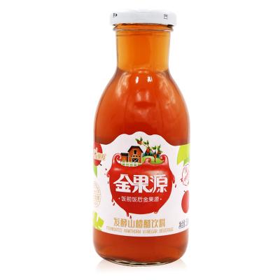 金果源发酵型山楂醋饮料260ml 山楂苹果醋饮品