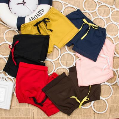 夏季兒童短褲男女孩五分褲純棉熱運動褲沙灘褲中小童寶寶三分褲子 臻依緣