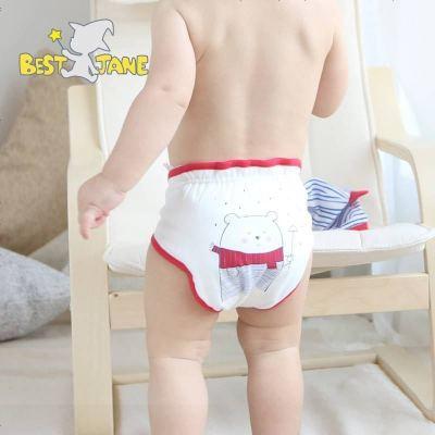 优简婴儿尿布裤棉透气宝宝可洗隔尿裤尿布兜学习裤布尿裤