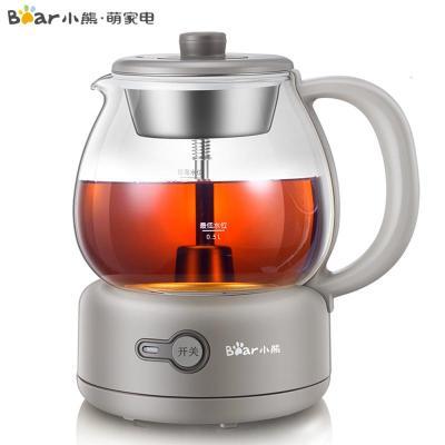 小熊煮茶器全自动蒸汽黑茶普洱办公室保温煮茶壶迷你玻璃电热水壶
