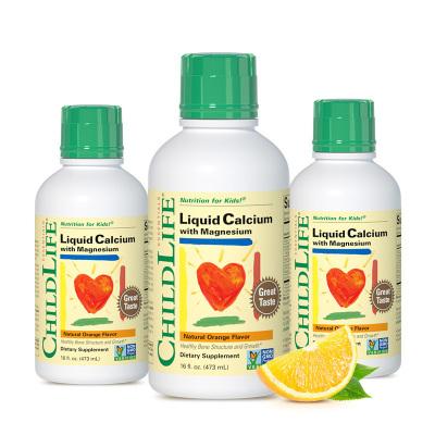 3瓶裝 童年時光 兒童鈣鎂鋅成長營養液液體鈣 473ML*3 6個月以上
