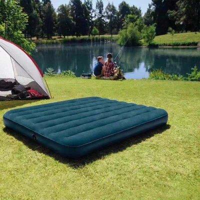 航竹坊 家用单双人加大充气床户外加厚气垫床充水床学生便携冲气床