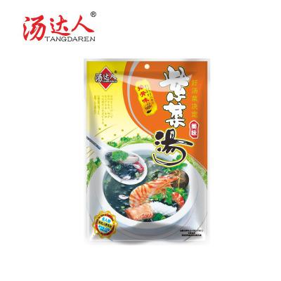 湯達人紫菜湯速食湯料沖泡即食菠菜蛋花湯芙蓉鮮蔬湯速溶蔬菜湯包72克