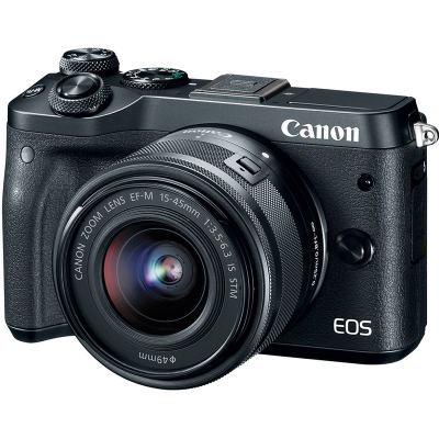 【二手95新】佳能/Canon EOS M6+(15-45mm IS STM) 【套机】佳能微单相机