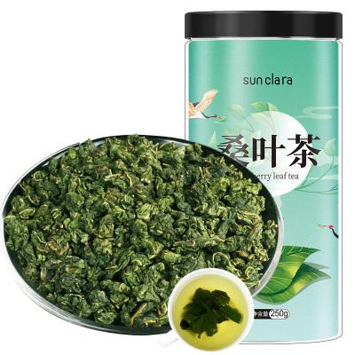 桑克拉(SUN CLARA)桑葉茶冬桑葉霜后桑葉花草茶養生茶葉250g/瓶