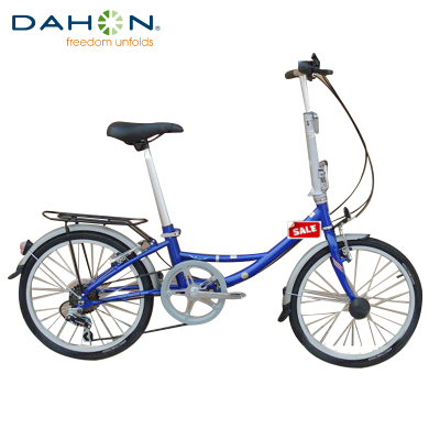大行自行车DAHON URT060折叠自行车20寸6变速