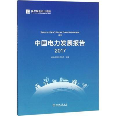 中國電力發展報告.2017 電力規劃設計總院 編著 著作 專業科技 文軒網