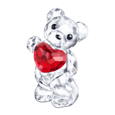 SWAROVSKI施华洛世奇手捧爱心小熊摆件 人造水晶 送恋人958449