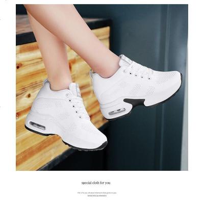 鬼步舞鞋女网面运动秋冬季新款隐形内增高女鞋软底杨丽萍广场舞鞋