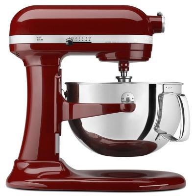 美国KitchenAid Pro600 6qt多功能自动家用厨师机搅拌机研磨机和面机 多色可选