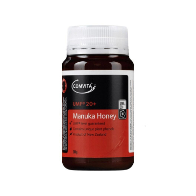 康維他 Comvita 【品牌授權】新西蘭原裝進口 曼努卡 麥盧卡 蜂蜜 UMF 20+ 250g 2瓶