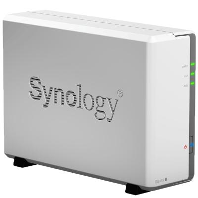 群晖(Synology) DS119j 单盘位家用NAS家庭存储服务器私有云网盘 DS115j升级版