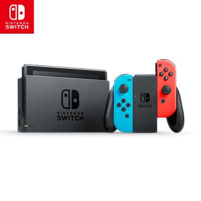 【國行正品】任天堂(NintendoSwitch) 家用游戲機續航增強版(紅藍)掌機游戲機 國行Switch