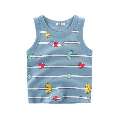 27home 2020夏季男童裝新款BX300兒童背心男童無袖吊帶純棉寶寶上衣