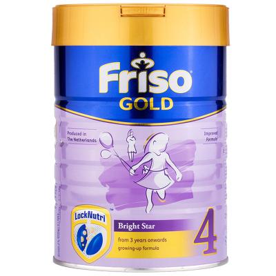 Friso 新加坡版金裝美素佳兒 成長配方奶粉 4段 ( 3歲以上)900g/罐 荷蘭原裝進口