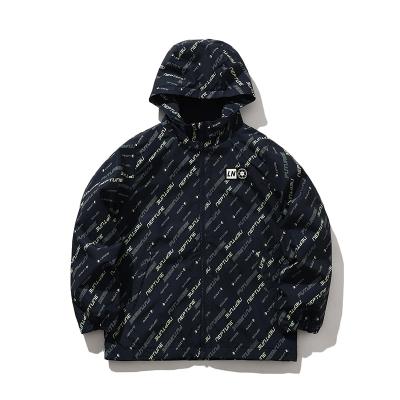 李寧童裝風衣男小大童3-12歲開衫長袖防風服連帽運動外套