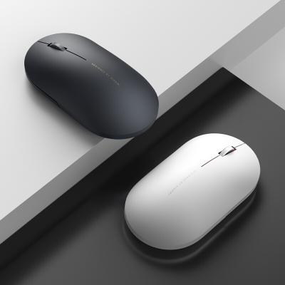 小米无线鼠标2静音无声笔记本台式电脑游戏鼠标男女通用 熔岩灰
