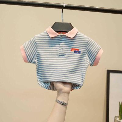 男童polo衫嬰童裝短袖翻領夏裝1-3歲幼兒保羅衫韓版中小童兒童T恤莎丞(SHACHEN)