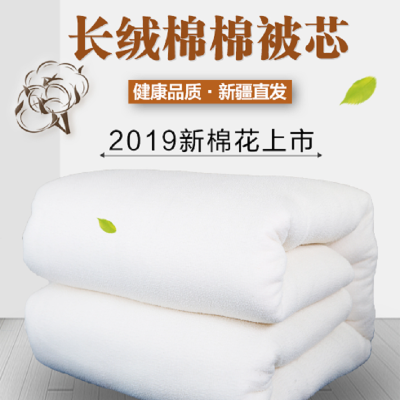 S selinen新疆100%長絨棉保暖無網棉花棉絮棉花被芯墊被床墊被褥s-29