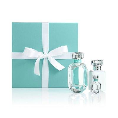 蒂芙尼經典女士香氛禮盒(女士香水75ml+女士香水5ml+女士潤膚乳液100ml)