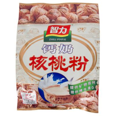 智力 钙奶核桃粉600g(内含17小袋)冲饮早餐即冲即食学生中老年核桃粉