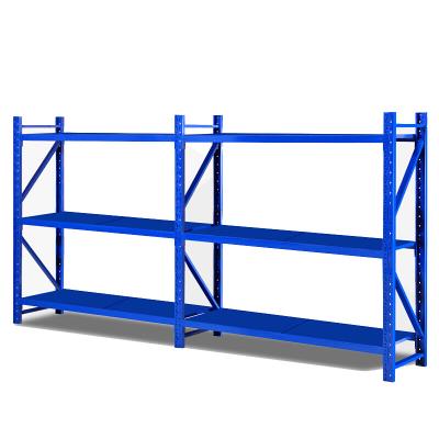 歐寶美倉儲貨架超市倉庫置物架展示架組合型四層4米*2米*0.6米