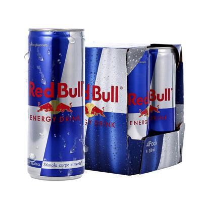 奧地利原裝進口 紅牛(Red Bull)含氣維生素功能飲料 250ml*4罐