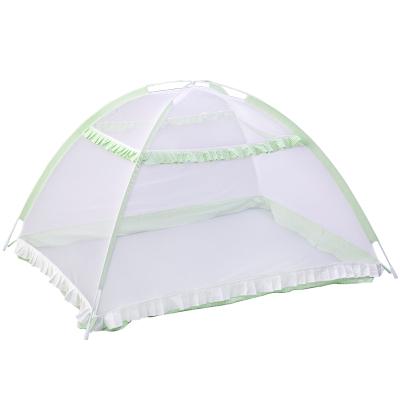 【蘇寧自營】龍之涵 嬰兒床蚊帳 免折疊無底蚊帳 寶寶蒙古包蚊帳
