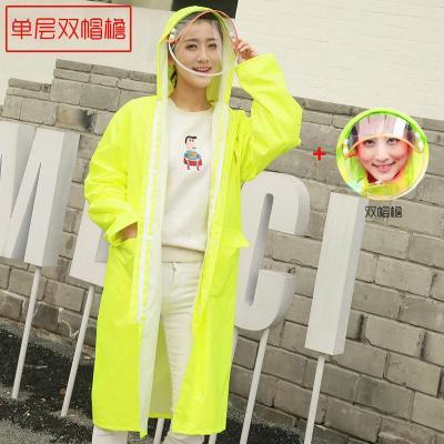 雨衣成人徒步韓國時尚男士女士防雨風衣長款外套加長戶外旅行雨衣親子夏天防雨單車零件配件騎行裝備