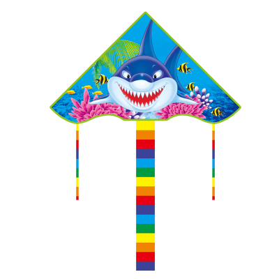 鴟吻玩具風箏 男孩女孩兒童戶外卡通動漫尼龍風箏3歲以上玩具 隨機發貨