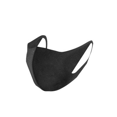 爱玛莎石墨烯保暖口罩女男士明星同款秋冬季防尘透气非纯棉黑色口覃造罩